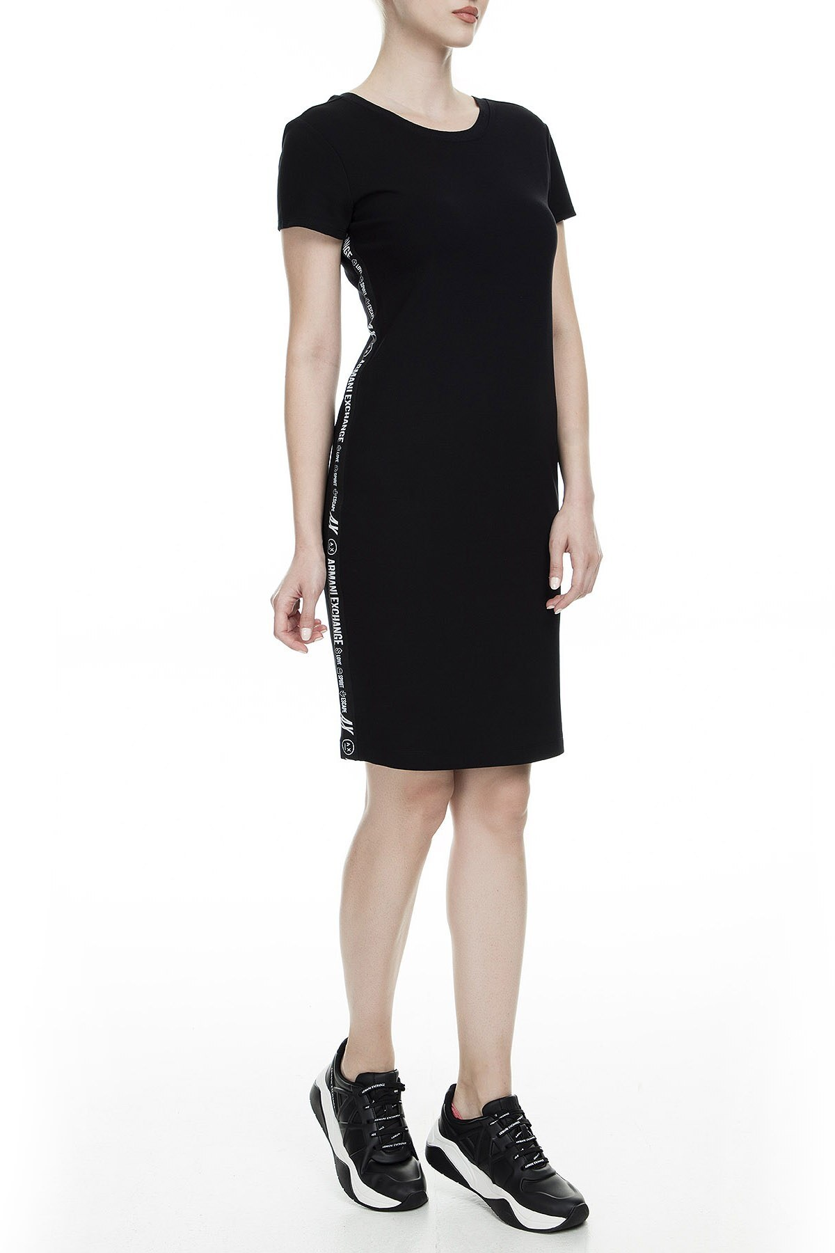 Armani Exchange Bayan Elbise 6GYA90 YJX8Z 1200 SİYAH