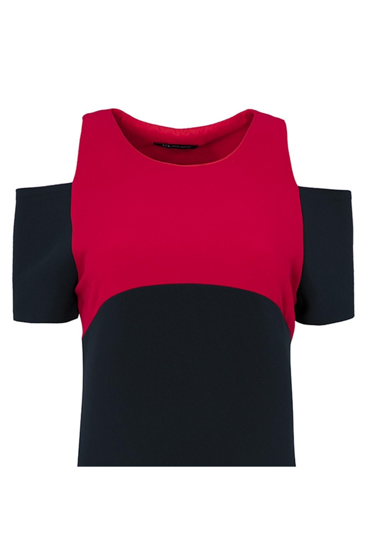 ARMANI EXCHANGE Kadın Elbise 6ZYA05 YNDUZ 1510 LACİVERT