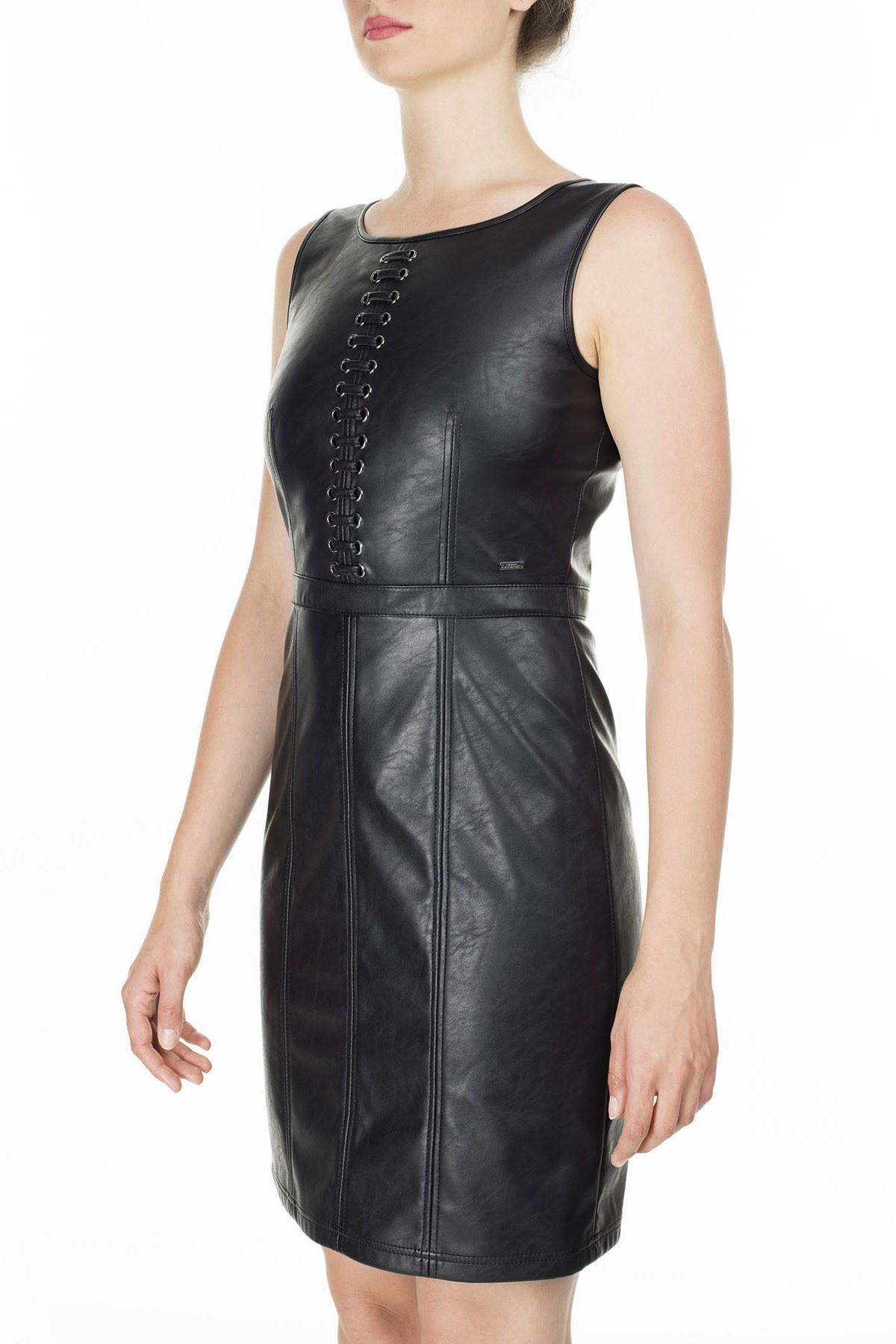 Armani Exchange Bayan Elbise S 6GYA44 YNRFZ 1200 SİYAH