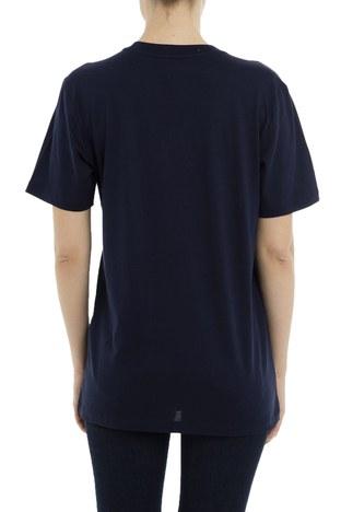 Armani Exchange - Armani Exchange Kadın T Shirt 3GYT89 YJ16Z 1567 LACİVERT (1)