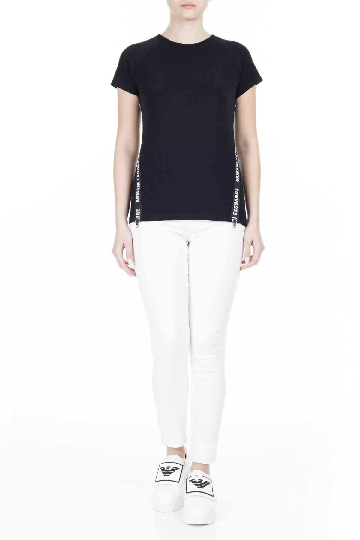 Armani Exchange Kadın T Shirt 3HYMAN YJ90Z 1200 SİYAH