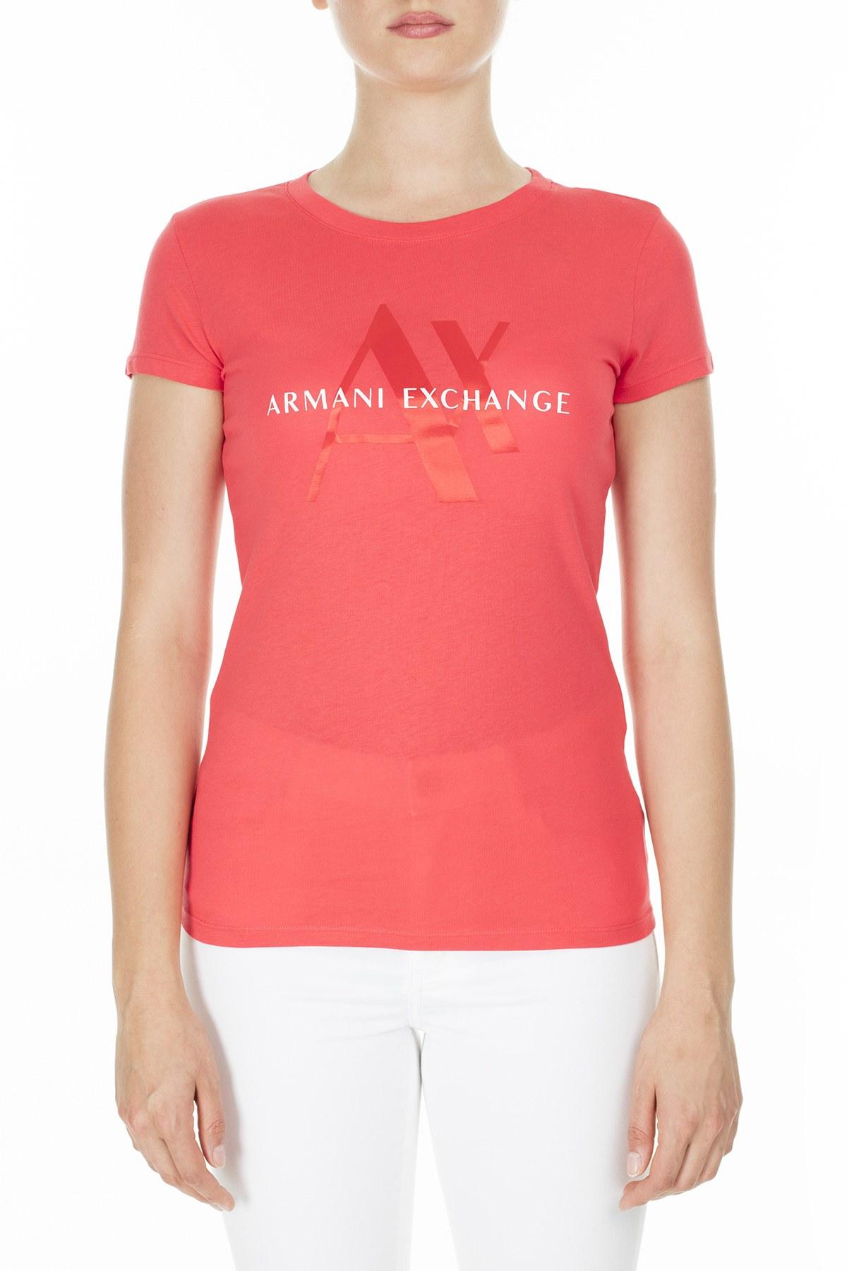 Armani Exchange Kadın T Shirt 3HYTAY YJ73Z 1476 MERCAN