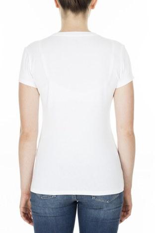 Armani Exchange - Armani Exchange Kadın T Shirt 3HYTCC YJ19Z 1000 BEYAZ (1)