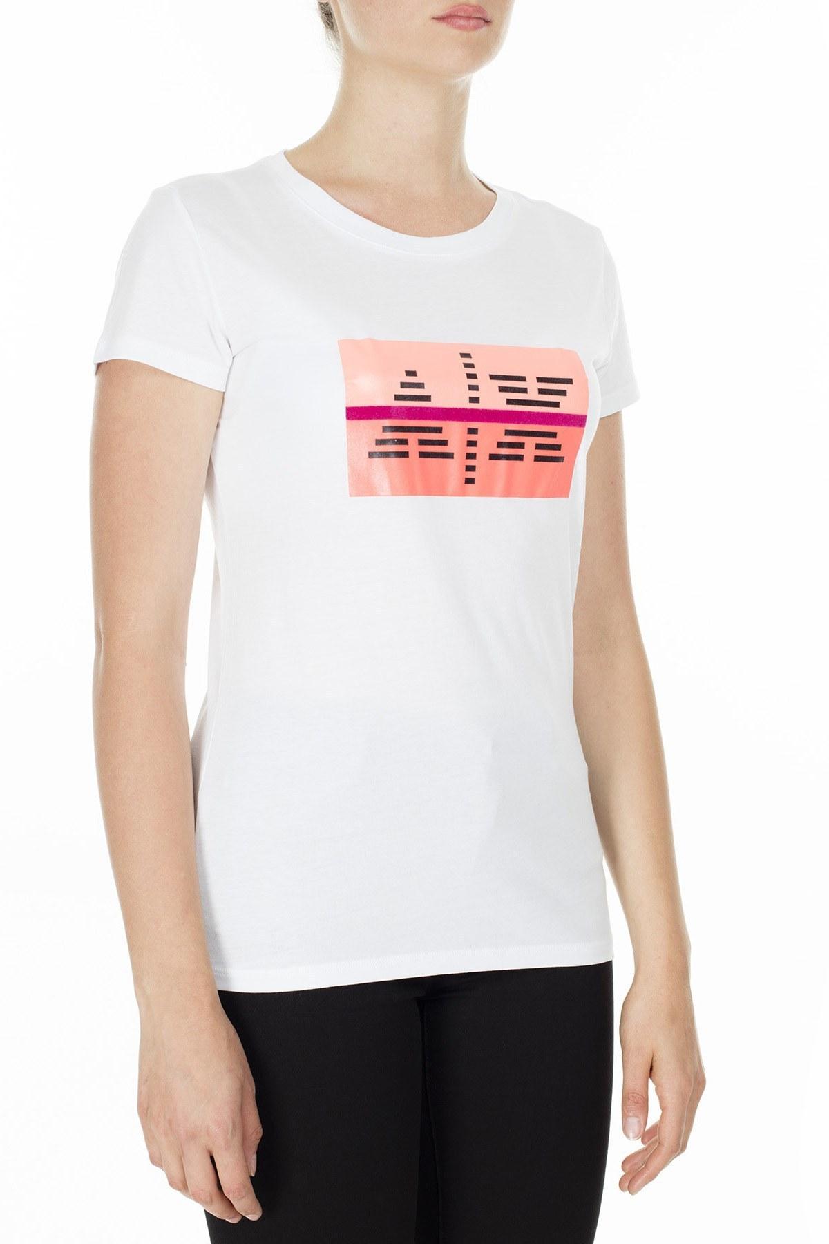 Armani Exchange Kadın T Shirt 3HYTEA YJ16Z 1000 BEYAZ