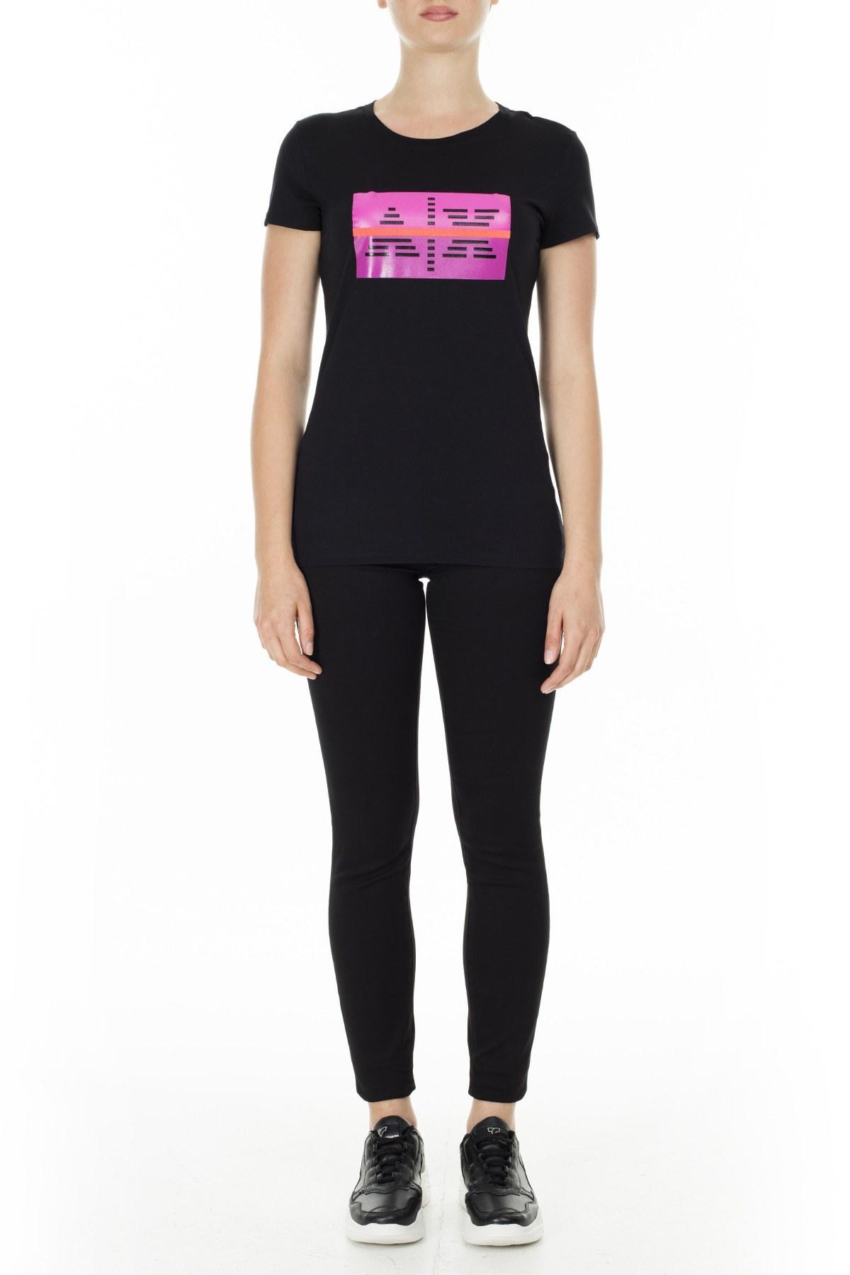 Armani Exchange Bayan T Shirt 3HYTEA YJ16Z 1200 SİYAH