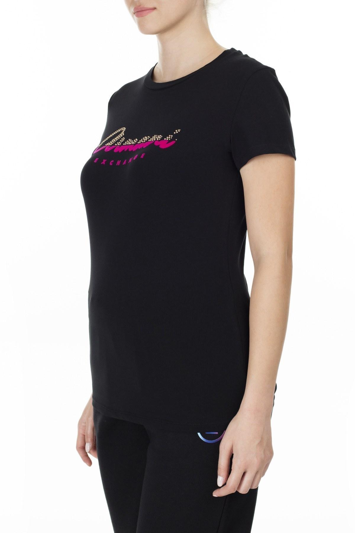 Armani Exchange Bayan T Shirt 6GYTAQ YJC7Z 1200 SİYAH