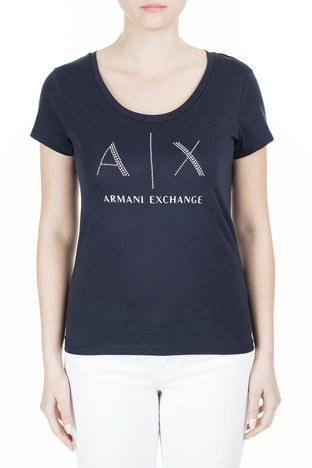 Armani Exchange - Armani Exchange Kadın T Shirt 8NYT83 YJ16Z 1510 LACİVERT