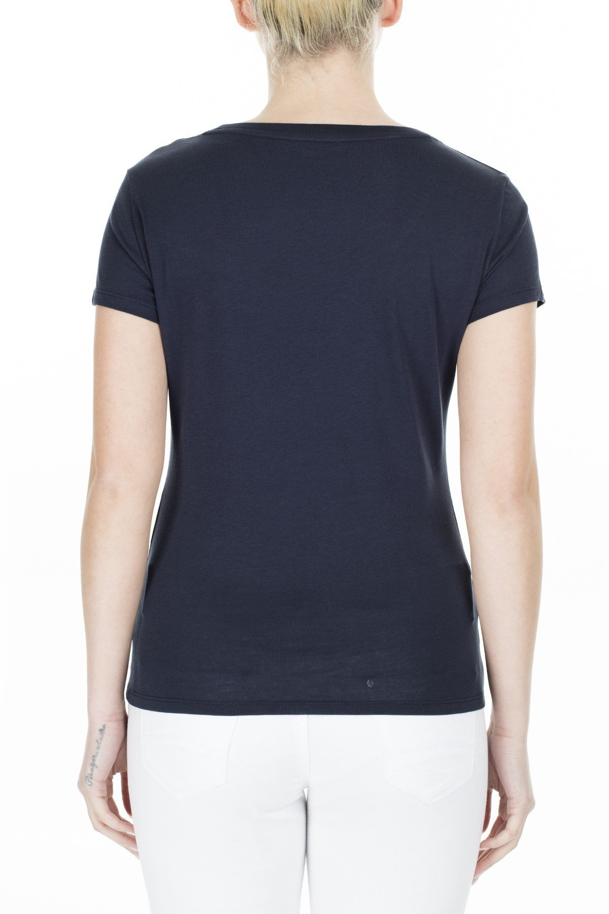 Armani Exchange Kadın T Shirt 8NYT83 YJ16Z 1510 LACİVERT