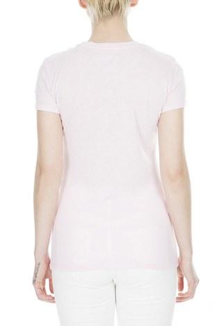 Armani Exchange - Armani Exchange Bayan T Shirt 8NYT98 Y9C8Z 1453 PEMBE (1)