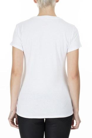 Armani Exchange - Armani Exchange Kadın T Shirt 8NYTDL YJ73Z 7107 BEYAZ (1)