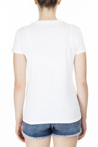 Armani Exchange - Armani Exchange Kadın T Shirt S 6GYTAB YJG3Z 1000 KIRIK BEYAZ (1)