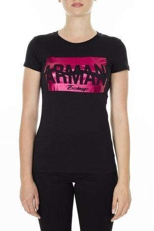 Armani Exchange Kadın T Shirt S 6GYTAB YJG3Z 1200 SİYAH