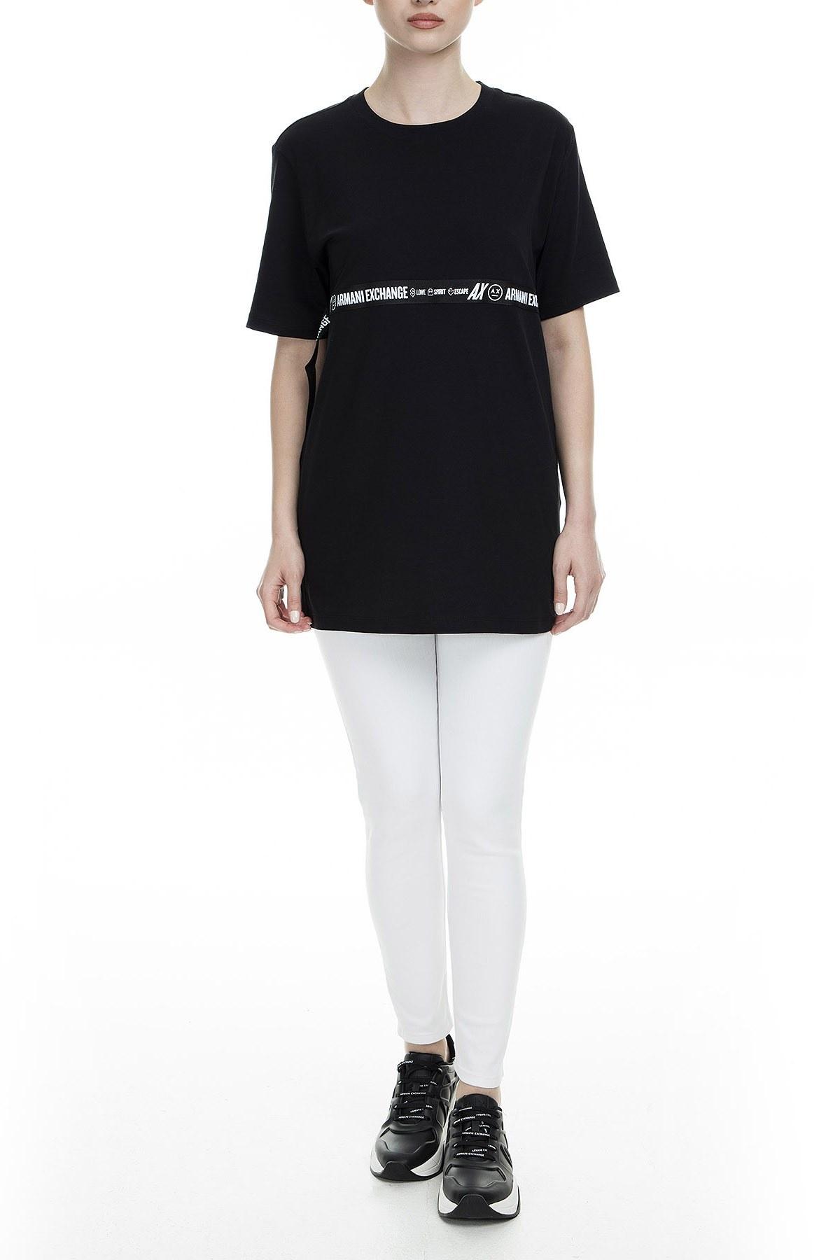 Armani Exchange Bayan T Shirt S 6GYTED YJX9Z 1200 SİYAH