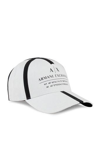 Armani Exchange Marka Logolu Erkek Şapka 954202 1P102 00010 BEYAZ