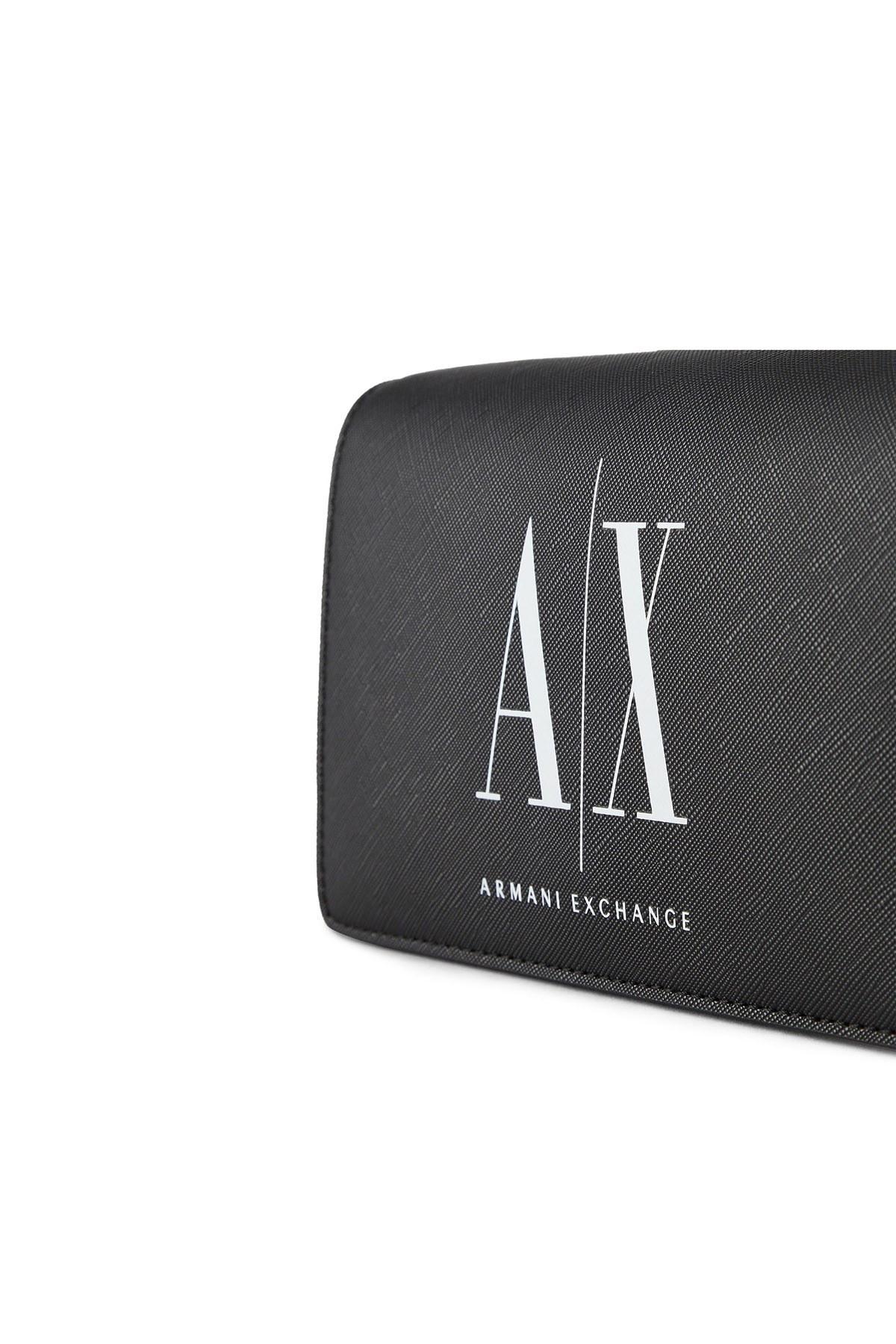 Armani Exchange Marka Logolu Omuz Bayan Çanta 942142 0P198 00121 SİYAH