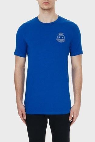 Armani Exchange - Armani Exchange Pamuklu Bisiklet Yaka Erkek T Shirt 6HZTFL ZJE6Z 1506 SAKS