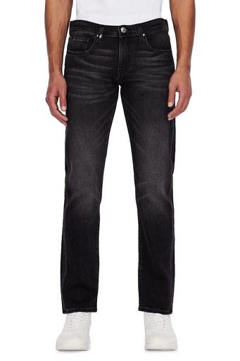 Armani Exchange Pamuklu Slim Fit J13 Jeans Erkek Kot Pantolon 3KZJ13 Z1ETZ 0903 GRİ
