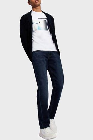 Armani Exchange - Armani Exchange Pamuklu Slim Fit J13 Jeans Erkek Kot Pantolon 3KZJ13 ZAQMZ 1500 LACİVERT
