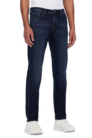 Armani Exchange - Armani Exchange Pamuklu Slim Fit J13 Jeans Erkek Kot Pantolon 3KZJ13 ZAQMZ 1500 LACİVERT (1)