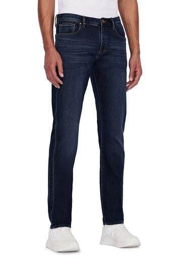Armani Exchange Pamuklu Slim Fit J13 Jeans Erkek Kot Pantolon 3KZJ13 ZAQMZ 1500 LACİVERT