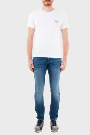 Armani Exchange - Armani Exchange Pamuklu Slim Fit J13 Jeans Erkek Kot Pantolon 6HZJ13 Z6QMZ 1500 İNDİGO