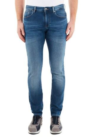 Armani Exchange - Armani Exchange Pamuklu Slim Fit J13 Jeans Erkek Kot Pantolon 6HZJ13 Z6QMZ 1500 İNDİGO (1)