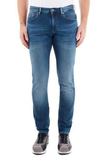 Armani Exchange Pamuklu Slim Fit J13 Jeans Erkek Kot Pantolon 6HZJ13 Z6QMZ 1500 İNDİGO