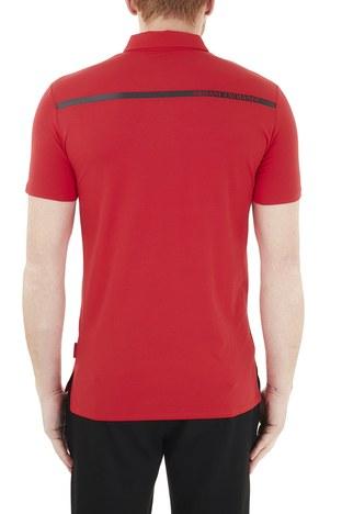 Armani Exchange - Armani Exchange Pamuklu T Shirt Erkek Polo 3KZFHA ZJE6Z 1400 KIRMIZI (1)