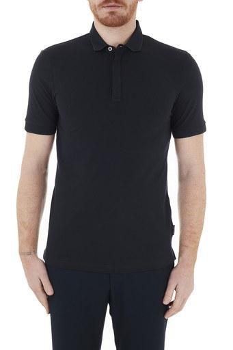 Armani Exchange Pamuklu T Shirt Erkek Polo 8NZF91 ZJ81Z 1510 LACİVERT