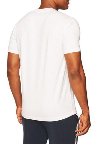 Armani Exchange - Armani Exchange Pamuklu V Yaka Regular Fit Erkek T Shirt S 8NZT85 Z8M9Z 2181 BEYAZ (1)