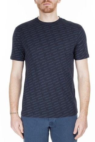 Armani Exchange - Armani Exchange Regular Fit Erkek T Shirt 3HZTFC ZJH4Z 8560 LACİVERT