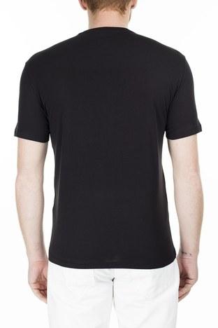 Armani Exchange - Armani Exchange Regular Fit Erkek T Shirt S 6GZTAX ZJH4Z 1200 SİYAH (1)