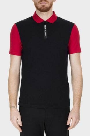 Armani Exchange - Armani Exchange Regular Fit T Shirt Erkek Polo S 6GZF89 ZJU3Z 6207 SİYAH