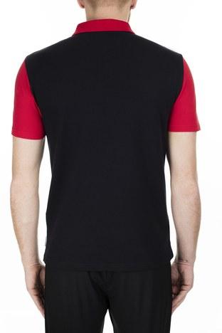 Armani Exchange - Armani Exchange Regular Fit T Shirt Erkek Polo S 6GZF89 ZJU3Z 6207 SİYAH (1)