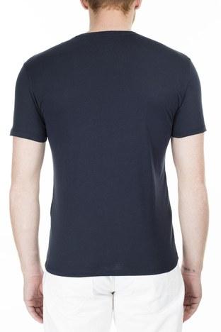 Armani Exchange - Armani Exchange Slim Fit Erkek T Shirt 3HZTAC ZJA5Z 1510 LACİVERT (1)