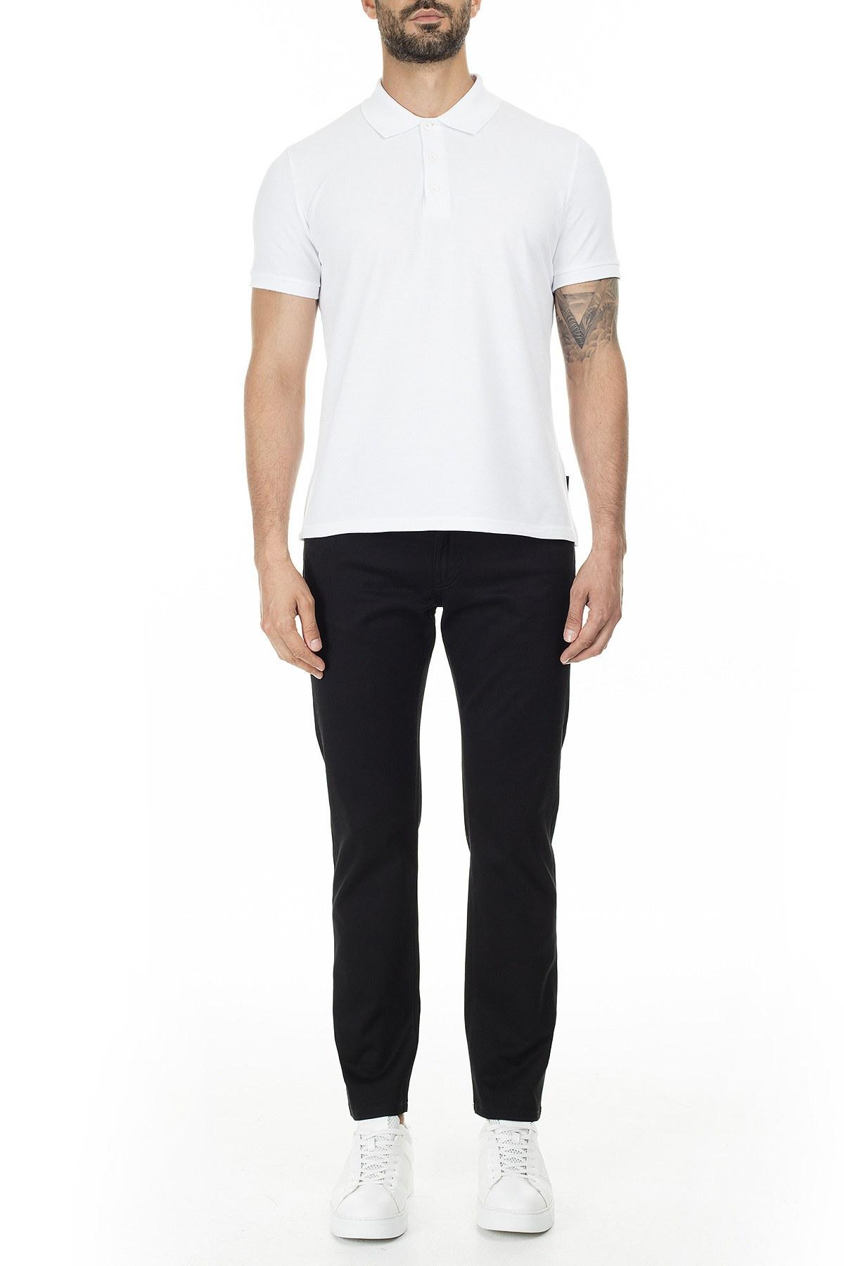 Armani Exchange Slim Fit J13 Jeans Erkek Pamuklu Pantolon 3HZJ13 ZNHBZ 1200 SİYAH