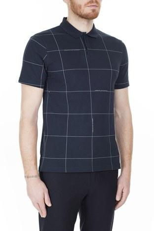 Armani Exchange T Shirt Erkek Polo 3HZFAE ZJLUZ 8546 LACİVERT