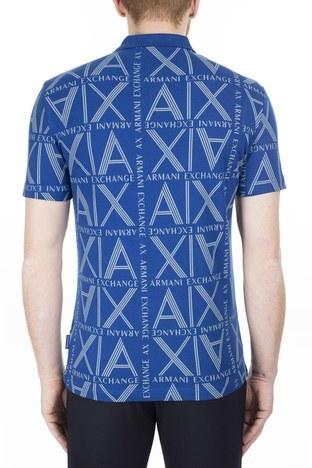 Armani Exchange - Armani Exchange T Shirt Erkek Polo 3HZFAE ZJLUZ 9503 SAKS (1)