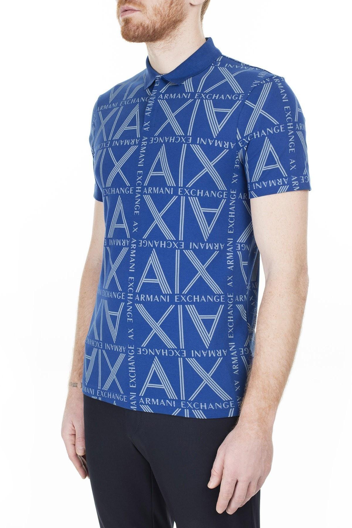 Armani Exchange T Shirt Erkek Polo 3HZFAE ZJLUZ 9503 SAKS
