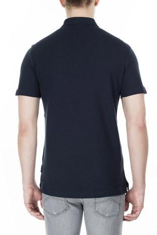 Armani Exchange T Shirt Erkek Polo 3HZFAF ZJ3NZ 1510 LACİVERT