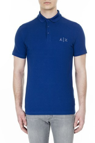 Armani Exchange - Armani Exchange T Shirt Erkek Polo 3HZFAF ZJ3NZ 1511 SAKS