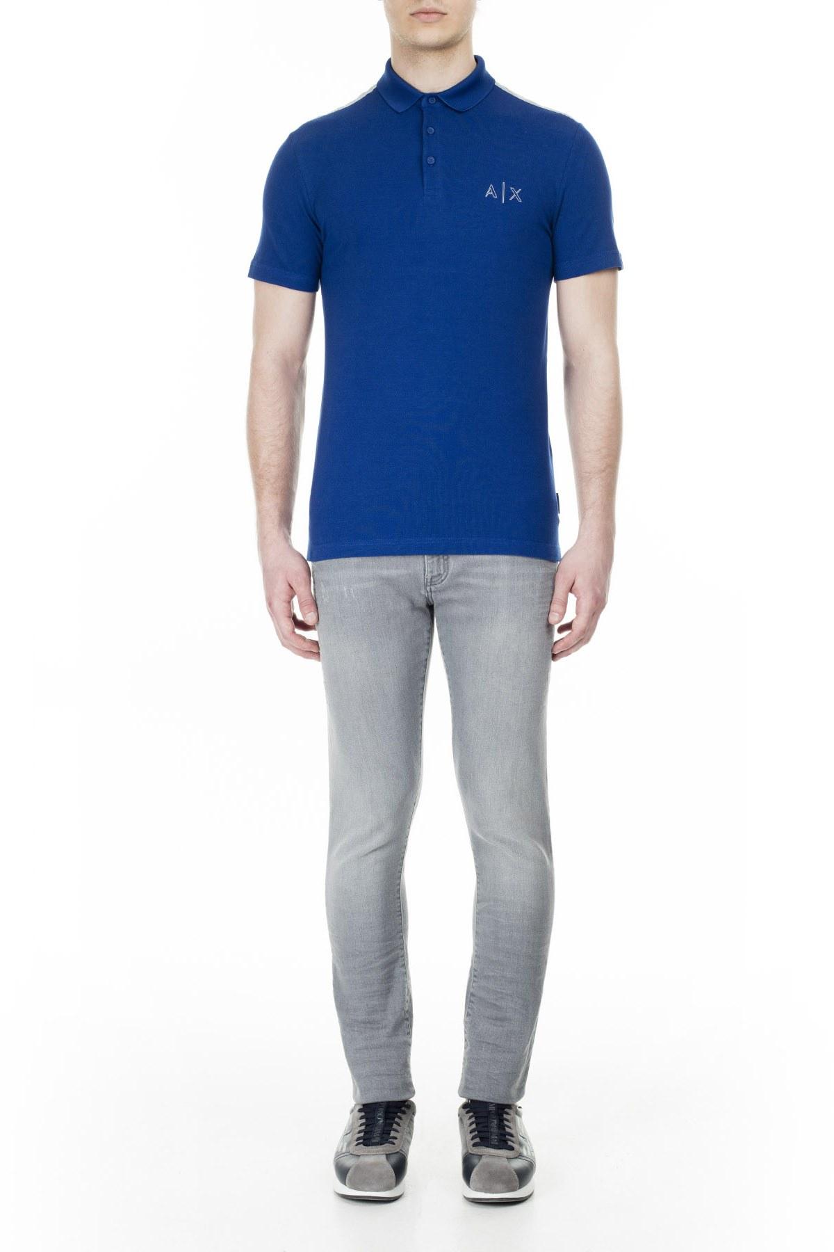 Armani Exchange T Shirt Erkek Polo 3HZFAF ZJ3NZ 1511 SAKS