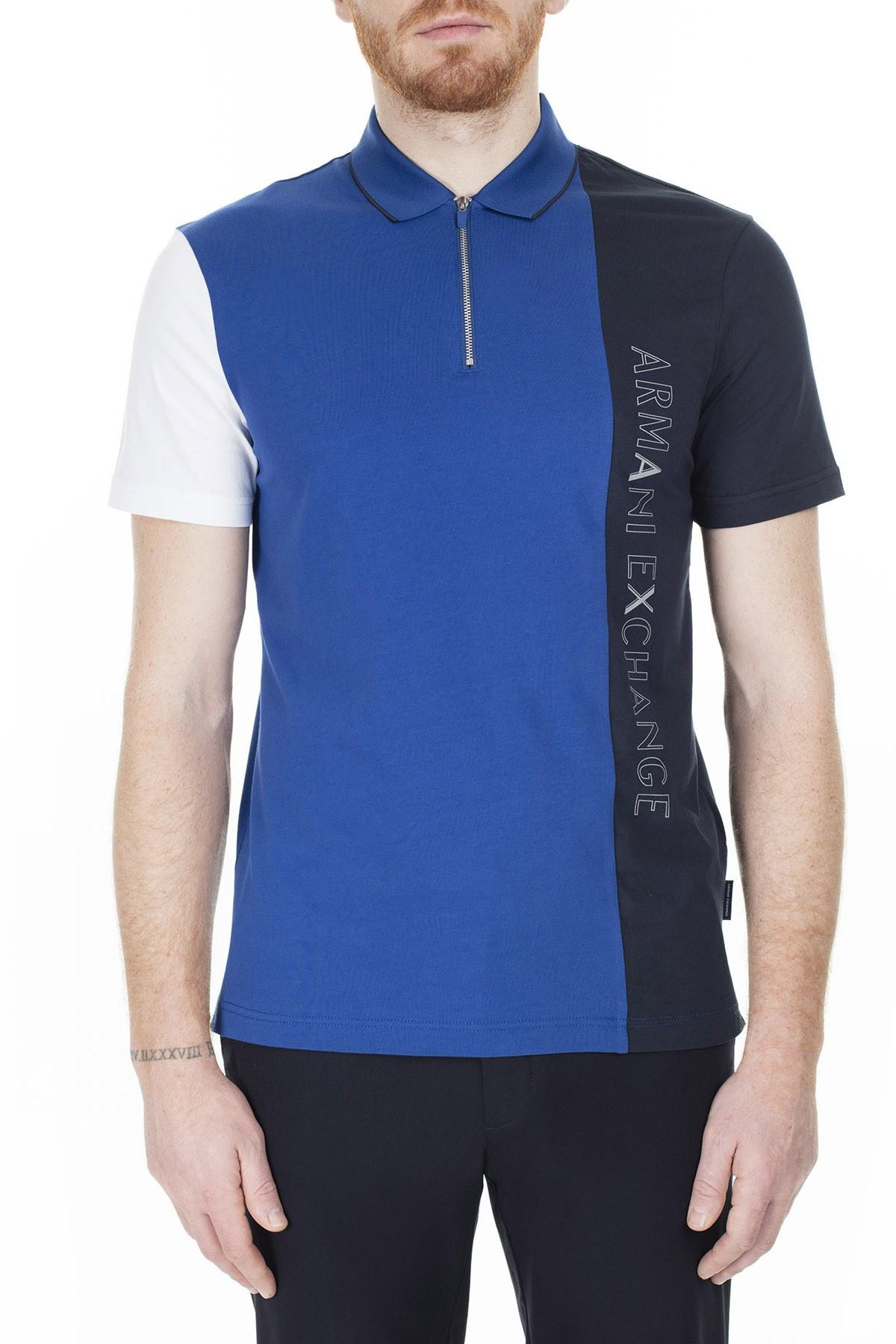 Armani Exchange T Shirt Erkek Polo 3HZFGB ZJBVZ 8548 SAKS