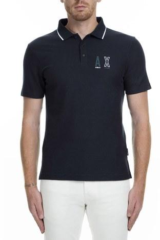 Armani Exchange - Armani Exchange T Shirt Erkek Polo 6GZFAF ZJW5Z 6593 LACİVERT