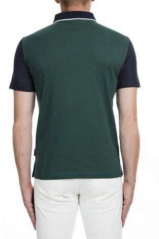 Armani Exchange - Armani Exchange T Shirt Erkek Polo 6GZFAF ZJW5Z 6593 LACİVERT (1)