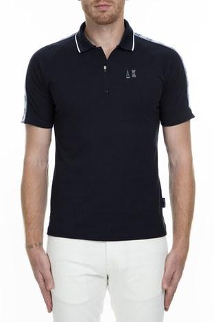 Armani Exchange - Armani Exchange T Shirt Erkek Polo 6GZFBE ZJBVZ 1510 LACİVERT