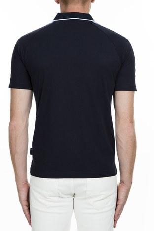 Armani Exchange - Armani Exchange T Shirt Erkek Polo 6GZFBE ZJBVZ 1510 LACİVERT (1)