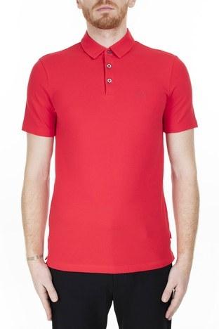 Armani Exchange - Armani Exchange T Shirt Erkek Polo 8NZF78 ZJ81Z 1400 KIRMIZI