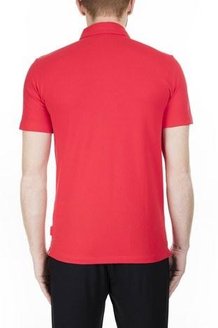 Armani Exchange - Armani Exchange T Shirt Erkek Polo 8NZF78 ZJ81Z 1400 KIRMIZI (1)
