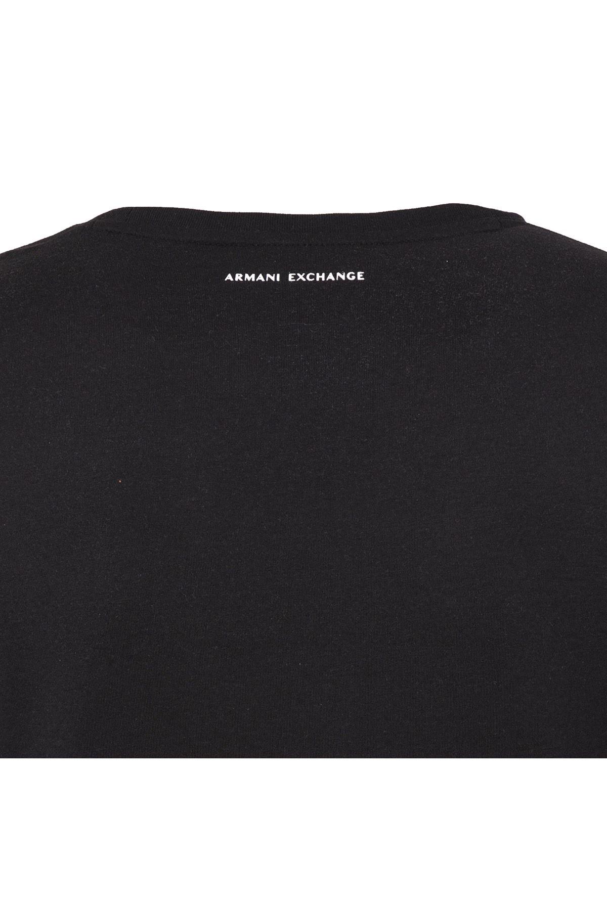ARMANI EXCHANGE T SHIRT Erkek T Shirt 6ZZTAG ZJS3Z 1200 SİYAH